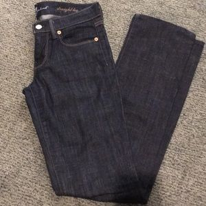 7 for all mankind straight leg 25